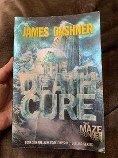 The Death Cure by James Dashner (The Maze Runner Series)