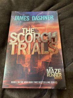 The Scorch Trials by James Dashner (The Maze Runner Series)