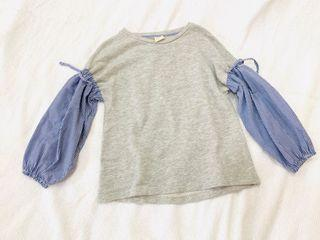 Zara long sleeve top size 8-10