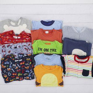12-18M Baby Boys bundle include baby gap roybee disney 11pcs