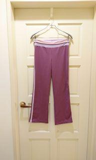 櫻花粉紫色瑜伽褲#防疫