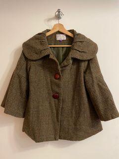 可愛復古外套
