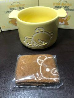 拉拉熊 暖心時光 木蓋馬克杯/針織套陶瓷杯