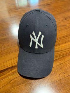 二手 NEW ERA 9Forty 紐約洋基 NY 老帽 帽子 美國職棒 黑色 可調式