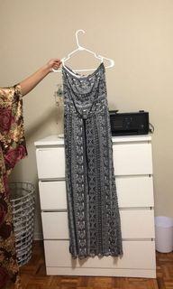Ardene CO. Maxi strapless dress