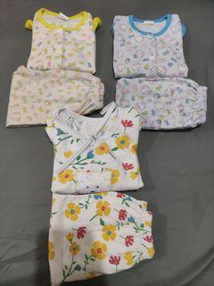 Baju tidur piyama bayi take all
