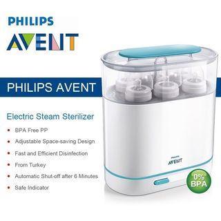 Baru! Electric Steam Sterilizer Phillips Avent (Pembersih Botol Bayi)