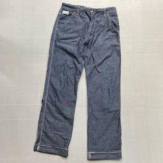 Celana panjang long pants edwin 705RS relax pants size 30 japan