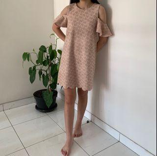 Chic Simple - Sabrina Pink Dress