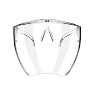Full face mask large shield acrylic protective mask full face Sunglasses splash mask with box