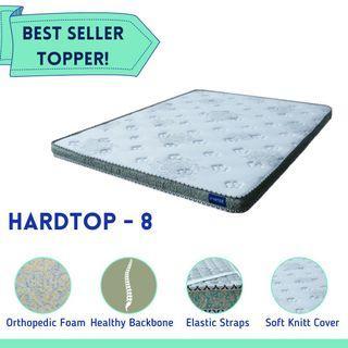 Hardtop 8 - Orthopedic Topper