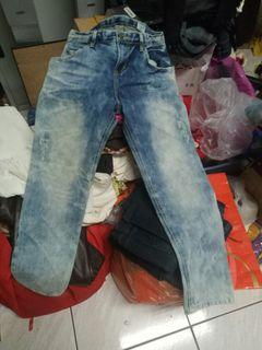 刷舊牛仔褲M