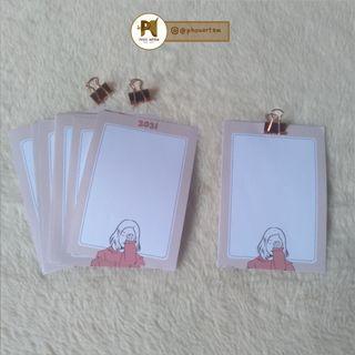 Notepad/Memo Pad 2021 by Phoo Artem (catatan kecil)