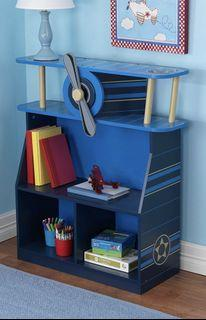 Orange toy organiser with basketball hoop @$20, KidKraft Children's book shelf  Paw Patrol bookcase @ $120