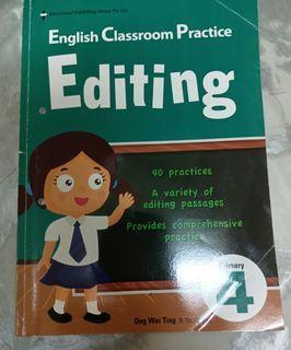 P4 English Editing Assessment Book