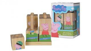 Peppa Pig Wooden Stacking Puzzles 木制puzzle 積木玩具