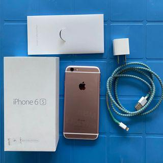 [PRELOVED] iPhone 6s 64GB Rosegold Unit F (Refurbished by Apple)