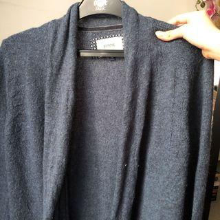 Real Cashmere Blue Cardigan