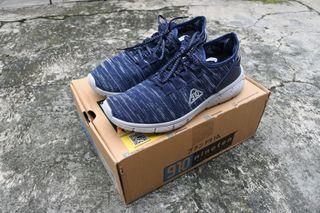 Sepatu Running / Lari 910 (Nineteen) Amaru Biru-Abu SIZE 43