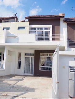 Setia Eco Village gelang patah Double Storey House Renovated