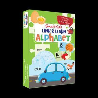 Smart Kids Link & Learn Alphabet   English   Puzzle   Educational Toy
