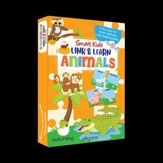 Smart Kids Link & Learn Animals   English   Puzzle   Educational Toy