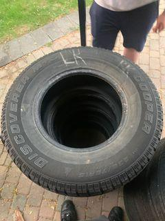 tires!! 235/75R15 Cooper Discoverer M+S Winter Tires