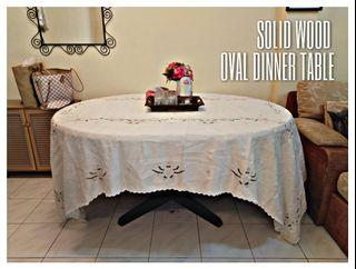 Urgent Sale   Solid Wood 6 Seater Dining Table