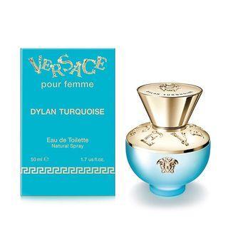 Versace Dylan Turquoise EDT 50ml 范思哲 - 迪倫海神女士淡香水 50ml