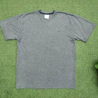 Vintage Nike Small Swoosh Usa Oversize Tees Tshirt Grey Built Up Original Kaos Tee Ori Center Big Oversized