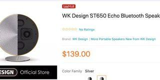 WK Design ST650 bluetooth speaker