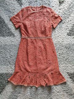 Yuan Orange Dress