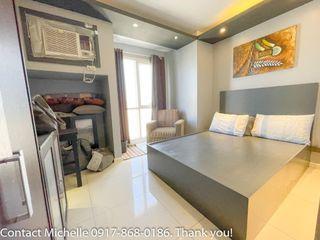Senta Condo Studio w/ parking for lease rent Fully Furnished Makati City Metro Manila Condominium Residential by Alveo Ayala Legaspi Village Makati