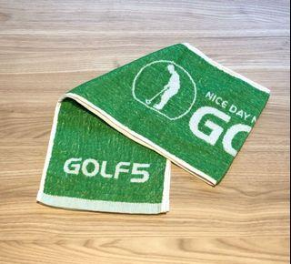 日本高爾夫長版運動毛巾