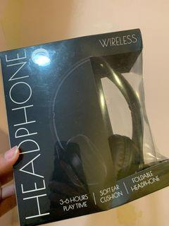 黑色全罩式藍牙無線耳機 #防疫 你我做起