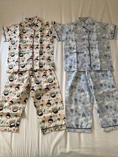 Baju Tidur Kazel size L ( 2 set )