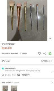Brush makeup RT