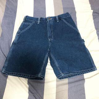 Carhartt 畫家 牛仔 工裝 短褲