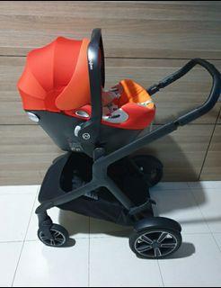 Cybex platinum Aton Q infant carseat