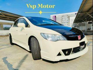 Honda Civic Fd 1.8At~ Mugen RR White