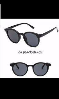 Kacamata korea lensa hitam