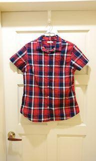 #女裝賣家 Lativ 蘇格蘭紅格襯衫