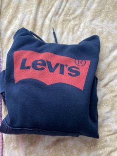 Levi's navy hoodie