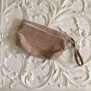 Light brown pouch