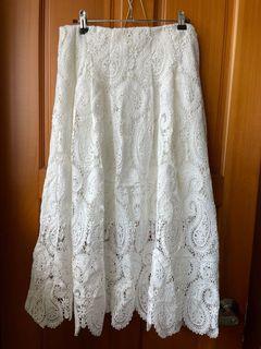 Mercci22 變型蟲蕾絲裙