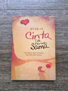 Novel Cinta Tak Pernah Sama