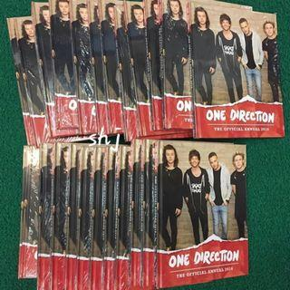 ONE DIRECTION THE OFFICIAL ANNUAL 2016 BOOK