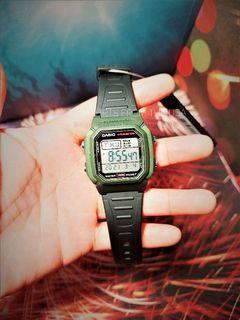 Original Casio Digital Watch USA purchase W800HM-3AV