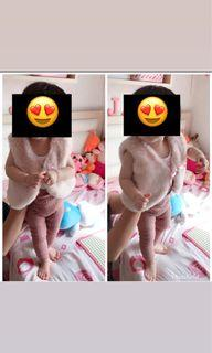 outer  bayi H&M pink nude