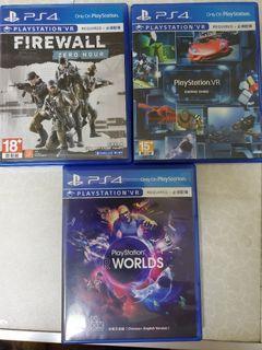 PS4 VR遊戲片